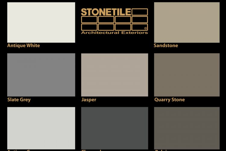 stonetile canada colors